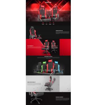 GAMING CHAIR GENESIS NITRO 550 BLACK-RED