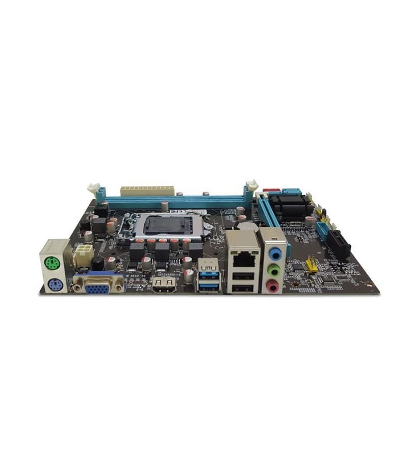 Quadro H61 H61-B75U3 DDR3 S+V+GL 1155p (mATX)