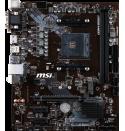 MSI B450M PRO-M2 V2 DDR4 3466Mhz S+VGA+GLAN AM4 Mainboard