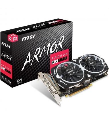 MSI RADEON RX 570 ARMOR GP OC VER 4GB GDDR5 VR READY 4K 256bit AMD VR READY 4K