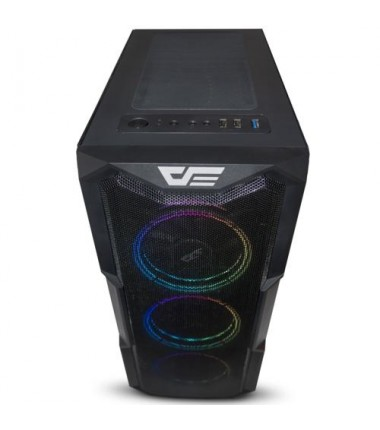 DarkFlash AquariusAcrylic 650W 80+Br RGB Mid gaming case with remote controller