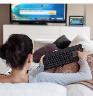WIRELESS TOUCH SMART TV KEYBOARD K400 PLUS