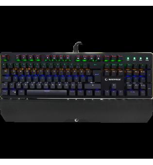 Rampage KB-R91 Optic blue Switch waterprof Ledli RGB light colour mechanic keyboard