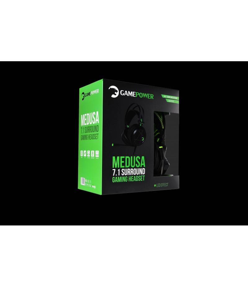Gamepower Medusa 7.1 Gaming Headphones