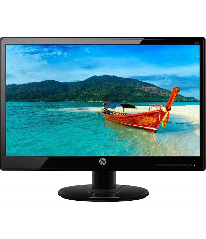 HP V194 18.5-inch HD Monitor with VGA Port (Black)