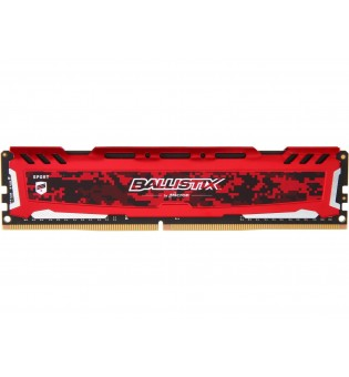 Ballistix 8GB 3000MHz DDR4 BLS8G4D30AESEK Gaming Case Ram memory