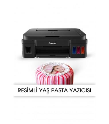 Picture cake printer pixma g3411 food ink